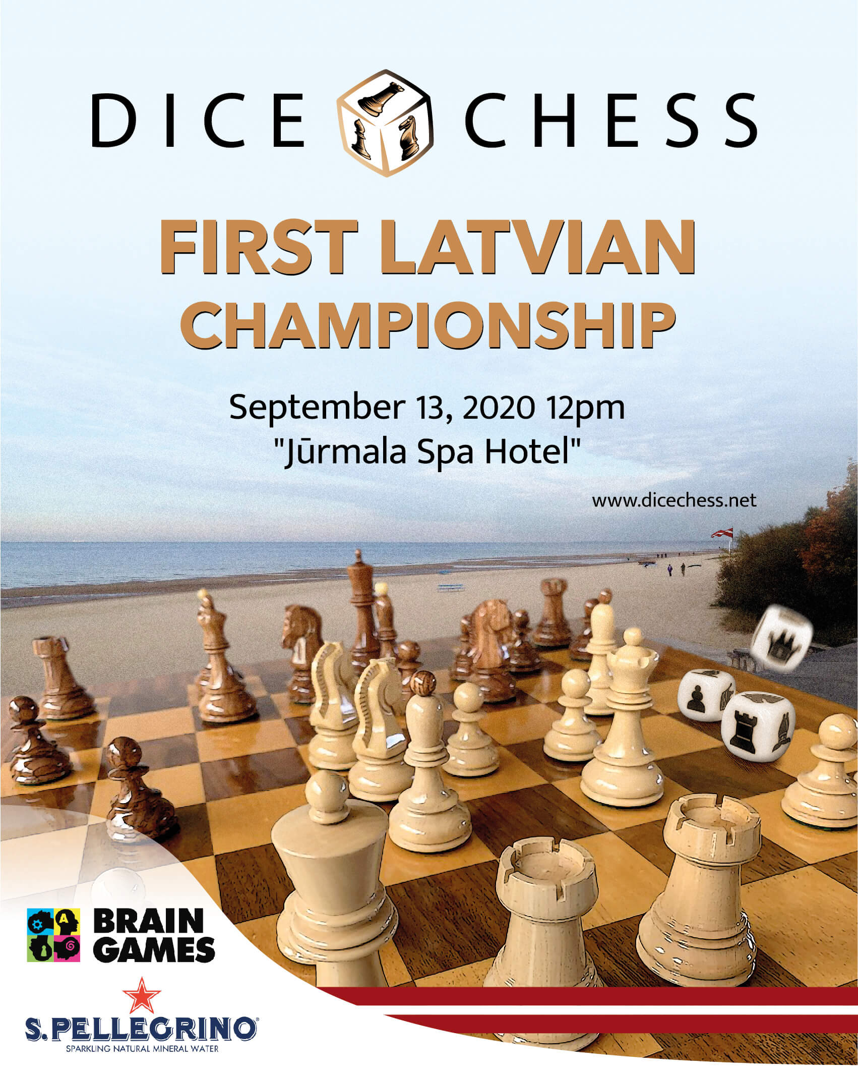 Featured image for First Latvian Dice Chess championship 2020