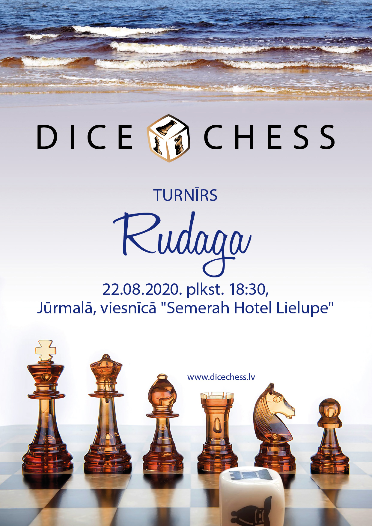 "Featured image for Drīzumā: Dice Chess turnīrs ""Rudaga"""