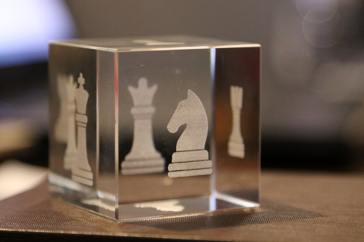 Featured image for The first official Latvian Dice Chess tournament
