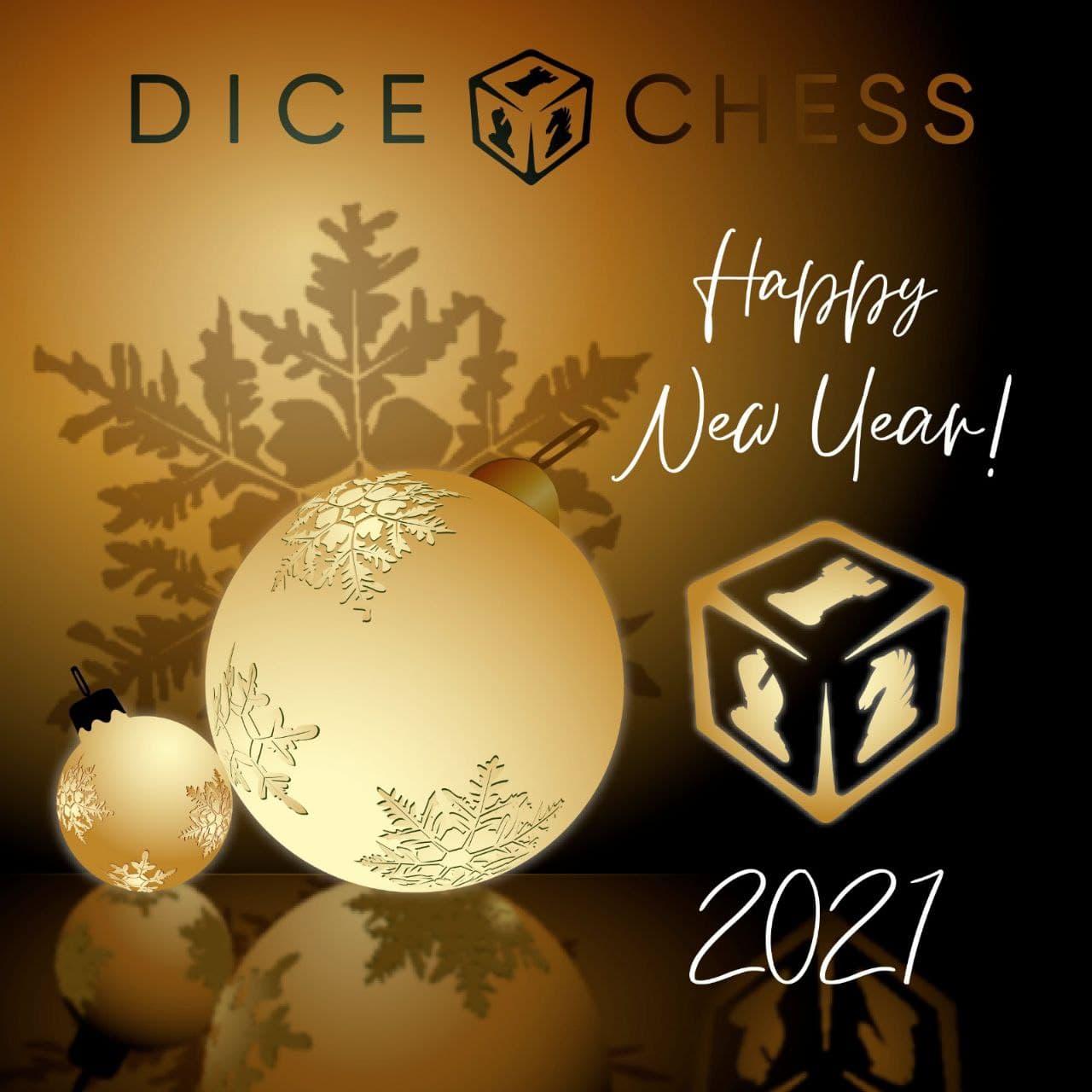 Featured image for Dice Chess федерация поздравляет всех с Новым годом!