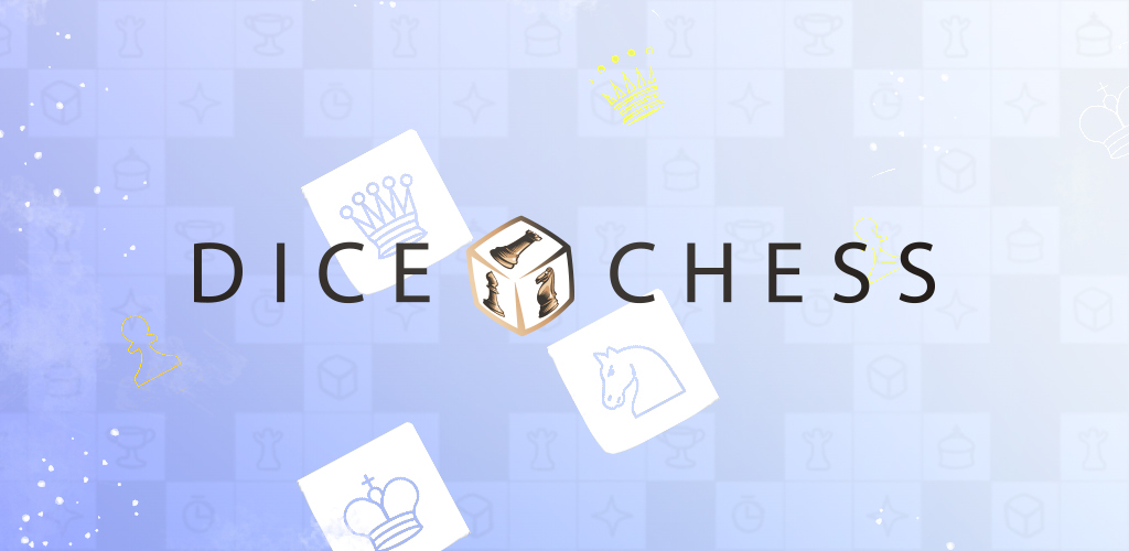 """Featured image for """"Dice Chess"""" application"""